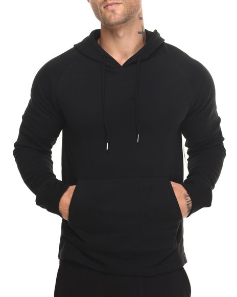 Buyers Picks - Men Black Dos Fleece Hoodie