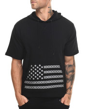 Buyers Picks - Studded Flag S/S Hoodie