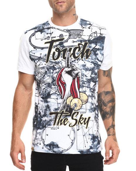 Akademiks Men Sky T-Shirt White Small