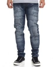 Heritage America - Denim Patch Denim Jeans
