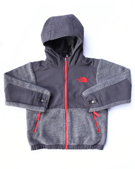 The North Face - Boys Grey Denali Hoodie (4-20)