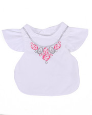 Black Friday Shop - Girls - Jewels Fancy Bib (One Size)