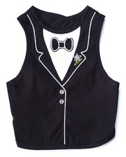 Black Friday Shop - Boys - Tuxedo Fancy Bib (One size)