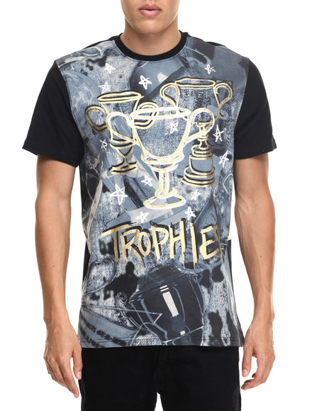 Akademiks Men Trophies TShirt Black Small