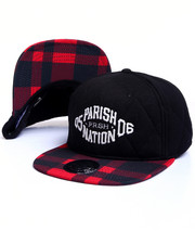 Hats - Quilted Strapback