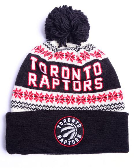 Adidas Men Toronto Raptors Flake Cuffed Knit Hat Multi 1SZ