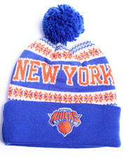 Hats - New York Knicks Flake Cuffed knit Hat