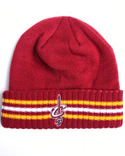 Men - Cleveland Cavaliers triple stripe cuffed knit hat