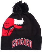 Adidas - Chicago Bulls Cuffed knit Pom hat