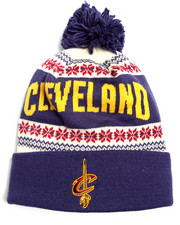 Hats - Cleveland Cavaliers Flake Cuffed knit Hat
