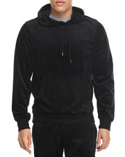 Men - West Velour Pullover Hoodie