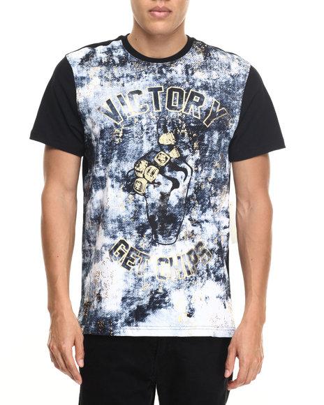 Akademiks Men Victory T-Shirt Black Large