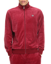 Fila - Slim Velour Jacket - Wine