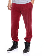 Fila - Slim Velour Pant - Wine