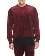 Sweatshirts & Sweaters - All Night Velour Sweatshirt