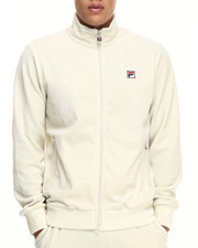 Fila - Slim Velour Jacket - Ecru