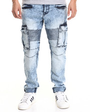 Jeans & Pants - Acid Light Modern Slim Biker Jeans