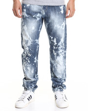 Jeans & Pants - Acid Light Modern Slim Fashion Jeans