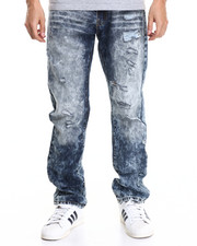 Jeans & Pants - Acid Wash Modern Slim Fashion Jeans