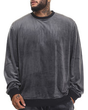 Sweatshirts & Sweaters - All Day Velour Sweatshirt (B&T)