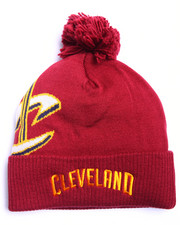 Men - Cleveland Cavaliers Cuffed knit Pom hat