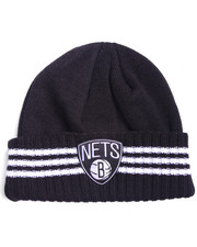 Men - Brooklyn Nets triple stripe cuffed knit hat