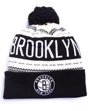 Adidas - Brooklyn Nets Flake Cuffed knit Hat