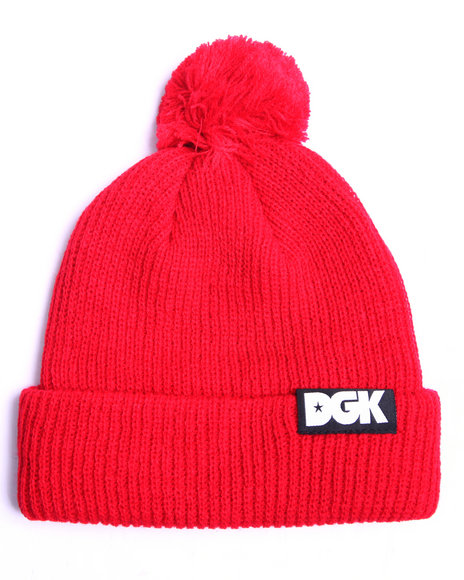 Dgk Men Classic Pom Beanie Red - $14.99