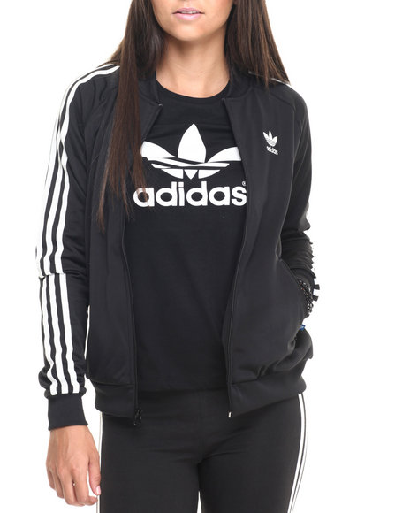 Adidas - Women Black Superstar Track Jacket
