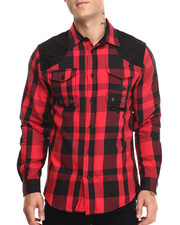 Button-downs - Plaid L/S Button-Down