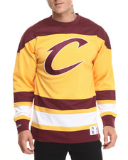 Men - Cleveland Cavaliers Mesh Longsleeve (Traditional Fit)