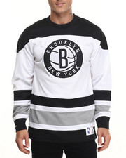 Men - Brooklyn Nets Mesh Longsleeve (Traditional Fit)