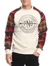 Men - Patchwork Sweatshirt