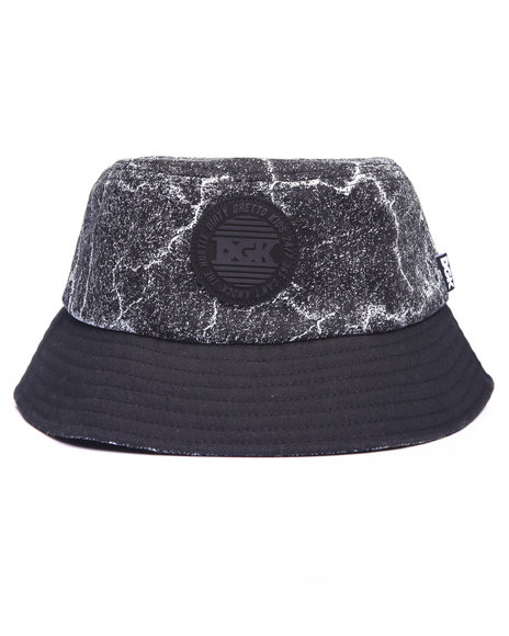 Dgk Men Blacktop Bucket Hat Black - $23.99