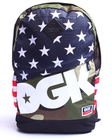 Dgk Men Americana Angle Deluxe Backpack Multi - $39.99