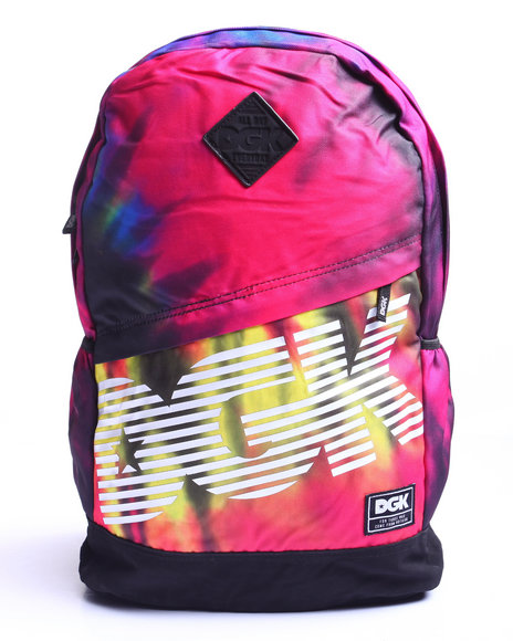 Dgk Men Tie Dye Angle Deluxe Backpack Multi