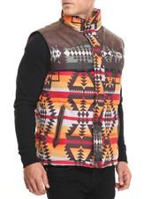 Vests - Aztec Bubble Vest