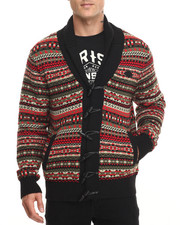 Men - Fairisle Cardigan Sweater