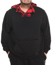 Big & Tall - Quilted Popover Hoodie (B&T)