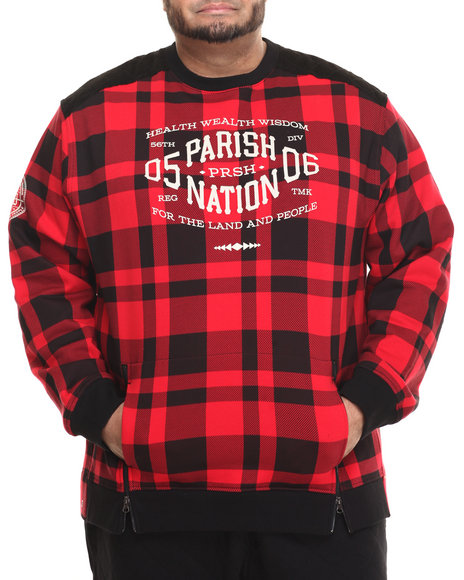 Parish - Men Black Graphic Sweatshirt (B&T)