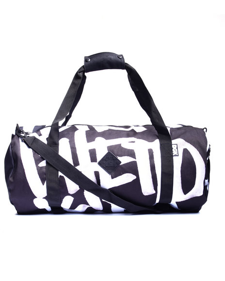 Dgk Men Getting Up Duffle Bag Black
