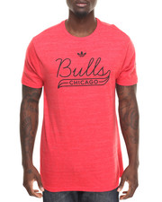 Adidas - Chicago Bulls Retro Fit s/s tee