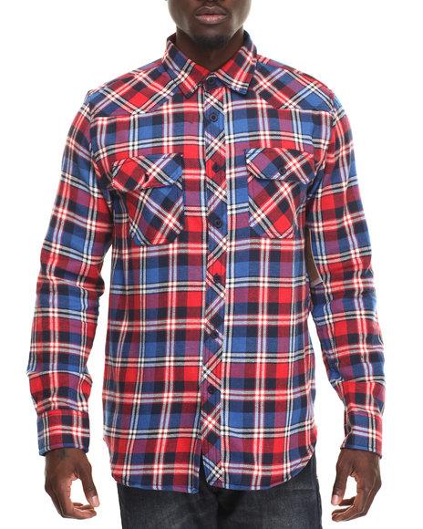 Buyers Picks - Men Blue,Red Lumber Jack Shirt - $28.99
