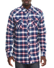 Buyers Picks - Woven Terry Buffalo Check Shirt