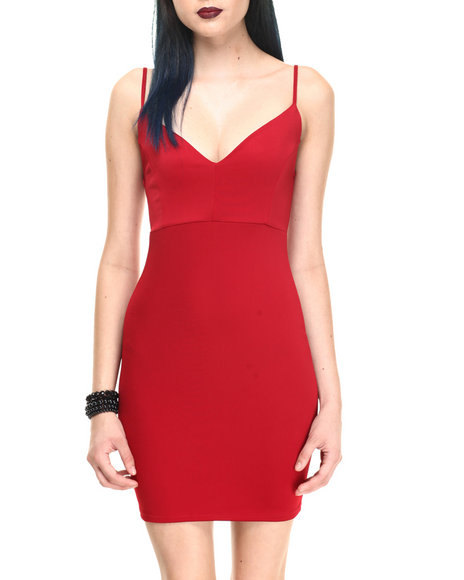 Fashion Lab - Women Red Hot Spice Dress - $13.99