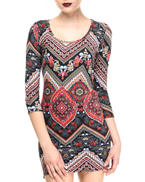 Fashion Lab - Women Black Temple Bodycon Ultra Soft