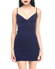 Dresses - Navy Sky Dress