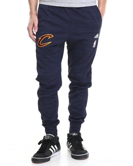 Adidas Men Cleveland Cavaliers  OnCourt WarmUp Jogger Pants Navy XLarge