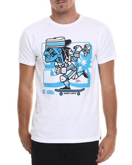 Dc Shoes Men 123 Chief Ss Tee White X-Large