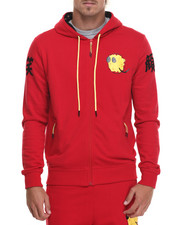 Men - Happiness Zip - Up Hoodie